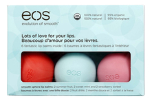 Eos Набор бальзамов Lots of Love for Your Lips 6шт