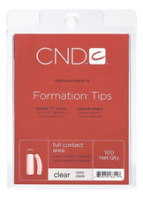 CND Типсы Clear Formation