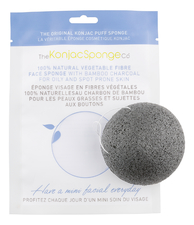 The Konjac Sponge Company Спонж конняку для лица с бамбуковым углем