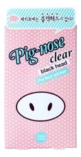 Holika Holika Очищающие полоски для носа Pig-nose Clear Black Head Perfect Sticker 10шт