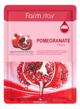 Farm Stay Тканевая маска для лица с экстрактом граната Visible Difference Pomegranate Mask Pack 23мл