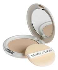 Seventeen Компактная пудра для лица Natural Silky Transparent Compact Powder SPF15 10г