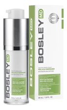 Bosley Биостимулятор фолликул волос Healthy Hair Follicle Energizer For Areas of Thinning & Low Density Hair 30мл