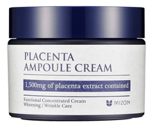 Mizon Плацентарный крем Placenta Ampoule Cream 50мл