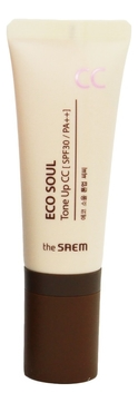 CC Крем Eco Soul Tone Up CC SPF30 PA++ 35г