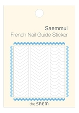 The Saem Наклейки для французского маникюра French Nail Guide Sticker