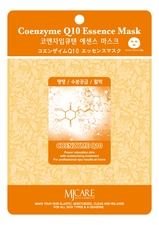 Mijin Маска тканевая Коэнзим MJ Care Coenzyme Q10 Essence Mask 23г