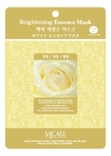 Mijin Маска тканевая осветляющая MJ Care Brightening Essence Mask 23г