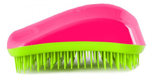 Dessata Расческа для волос Hair Brush Original Fuchsia-Lime (фуксия-лайм)