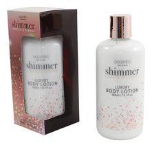 Accentra Лосьон для тела Shimmer Vanilla & Almond Luxury Body Lotion 300мл (ваниль и миндаль)