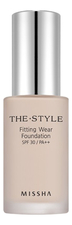 Missha Тональная основа The Style Fitting Wear Foundation SPF30 PA++ 30мл